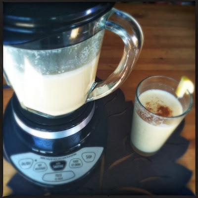 hamilton beach smoothie smart blender and caramel apple cider smoothie