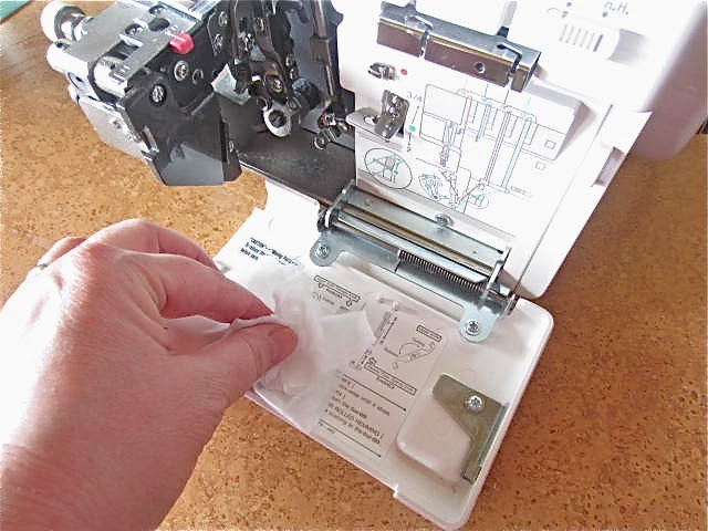 Handmade Dress Haven Using Canned Air To Clean A Serger Or Sewing Best How To Clean A Sewing Machine