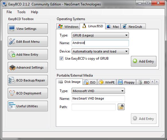 Grub customizer project page