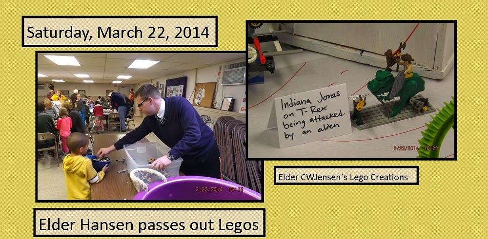 March 22, 2014 - Lego Service