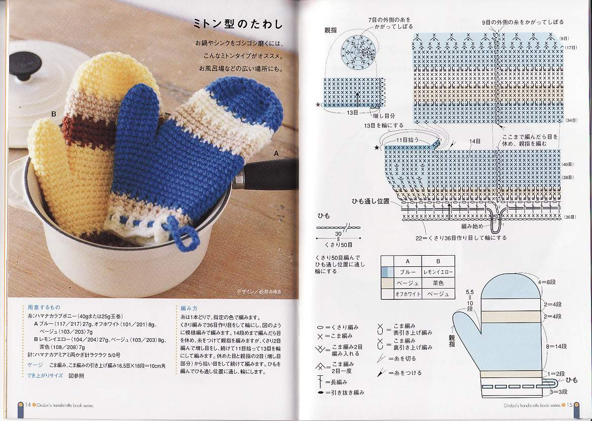Tejer Guantes En Crochet | www.imagenesmy.com
