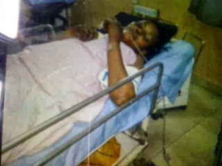 Photos: Associated Airline hostesses Queeneth & Toyin in hospital