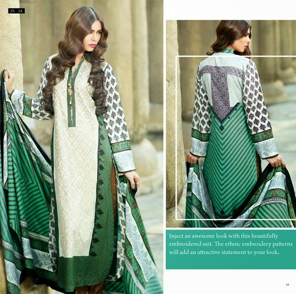 Kalyan by ZS Textiles F/W Collection 2014-15