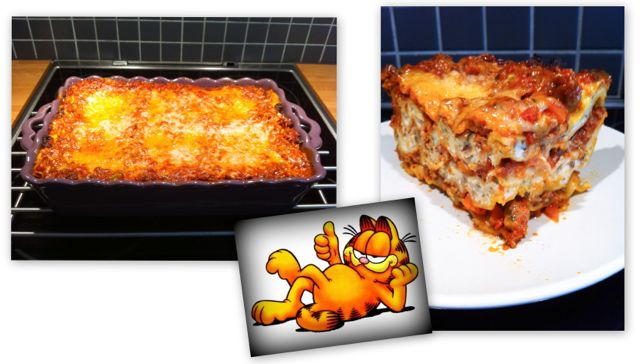 lyxig lasagne recept