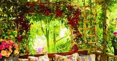 Outdoor porch and terrace decorating ideas home for 4 h decoration ideas