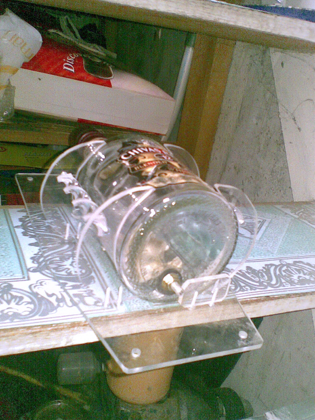 Aksesoris Rx King  Botol Oli Samping Merk Chivas Regal