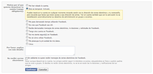 Facebook login email password contrasena