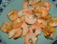 A simple Chinese recipe with prawns