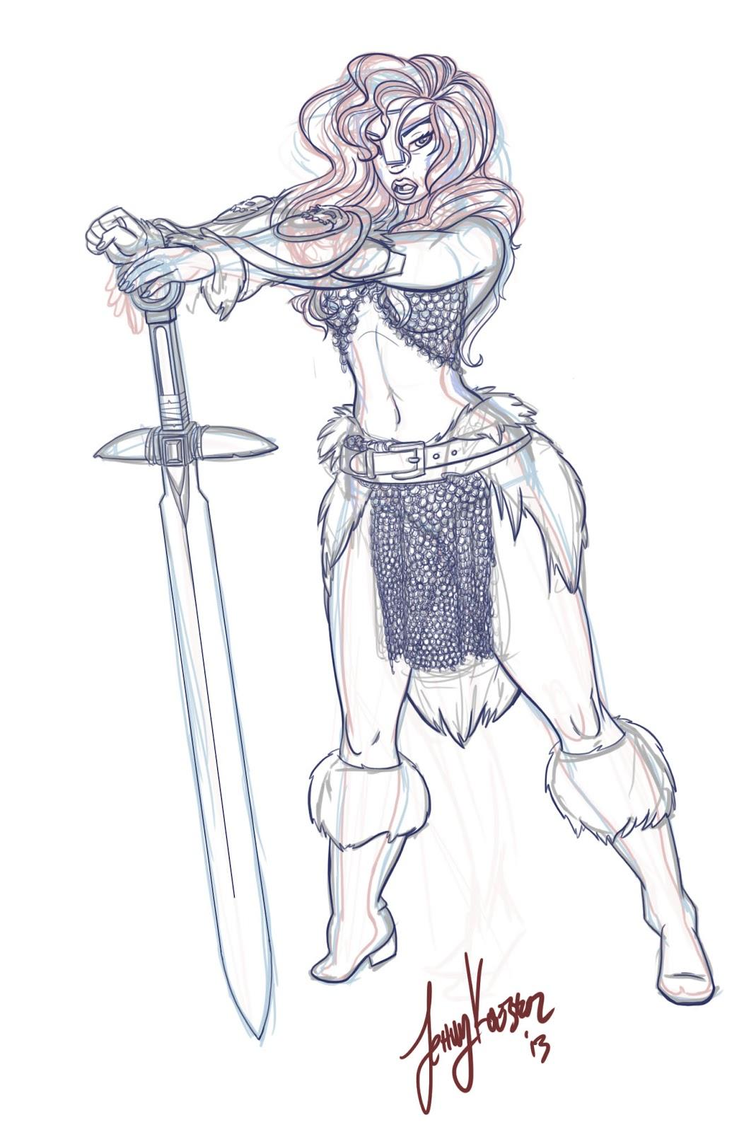 Hetai warrior sketch sex images
