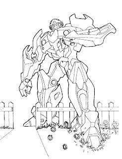 dicas de Desenhos do Transformers