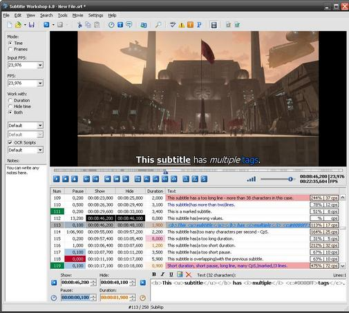 Free Download Software Subtitle Workshop untuk Edit Subtitle