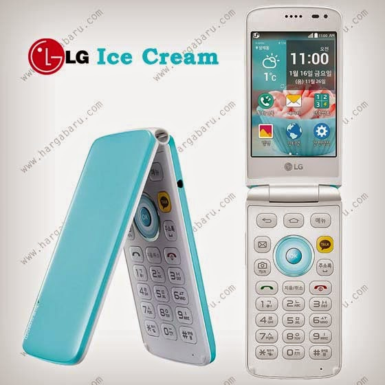 Bocoran Spesifikasi dan harga LG Ice Cream Smart