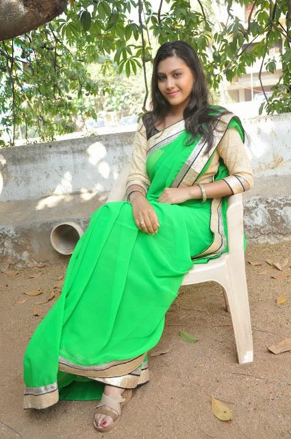 Actress Priyanka Naidu Saree Photos