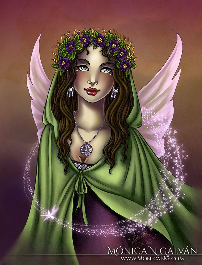 La Fata by Enchanted Visions artist, Monica N. Galvan