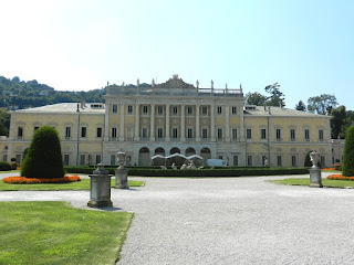 The Villa Olmo, an 18th century house set in magnificent grounds, is open to the public