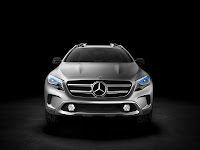 Mercedes-Benz Concept GLA front