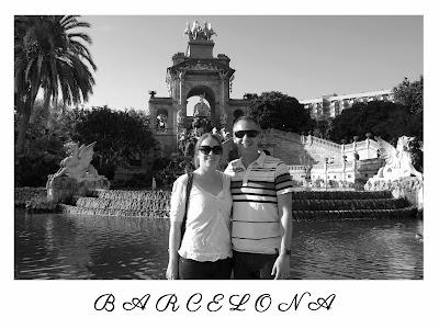 Wedding postcard and table name - Barcelona