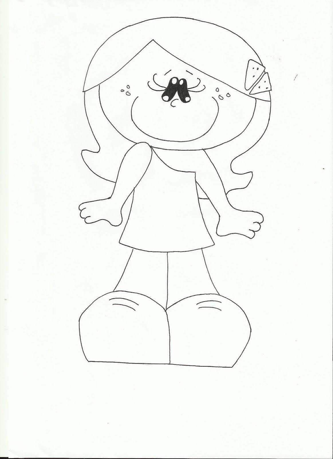 La cajita de Eli: Muñeca vestido negro.