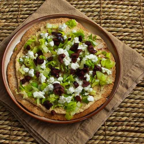Kalyn's Kitchen®: Mediterranean Tostadas Recipe With