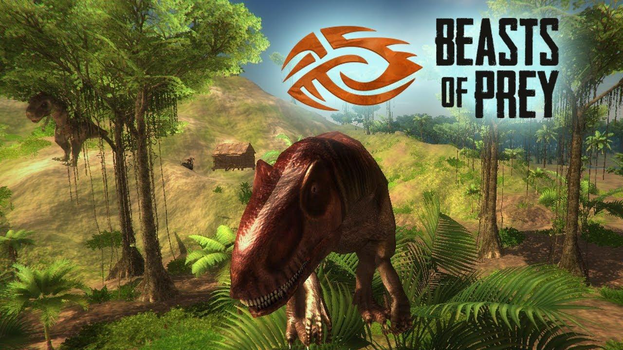 Новая игра о динозаврах - стрим