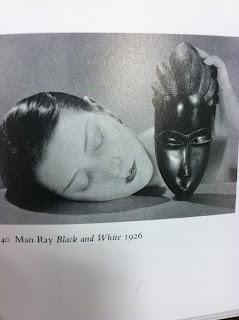 Black and White Mask Art