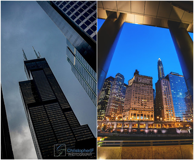 Chicago at Night Photography