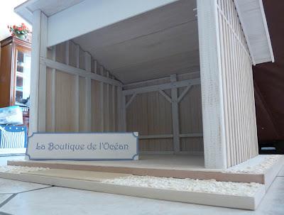 Boutique de l'Océan,Maison de Poupées,Maquette,Michelle LEBOUTEILLER,Chantal SIGURET