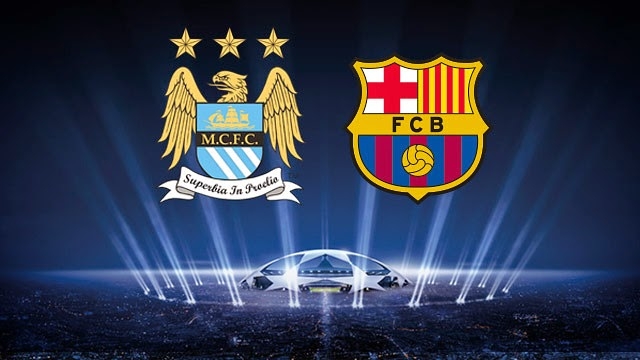 Manchester City vs Barcelona Uefa 2015 live streaming