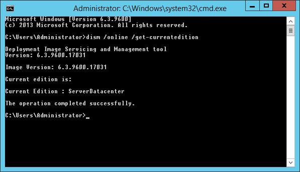 Informacja o wersji systemu