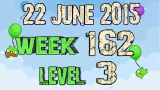 Angry Birds Friends Tournament level 3 Week 162