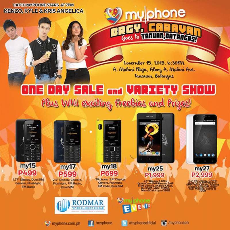 MyPhone My25 Gets Listed, 4 Inch Quad Core Smartphone For Just 1999 Pesos!