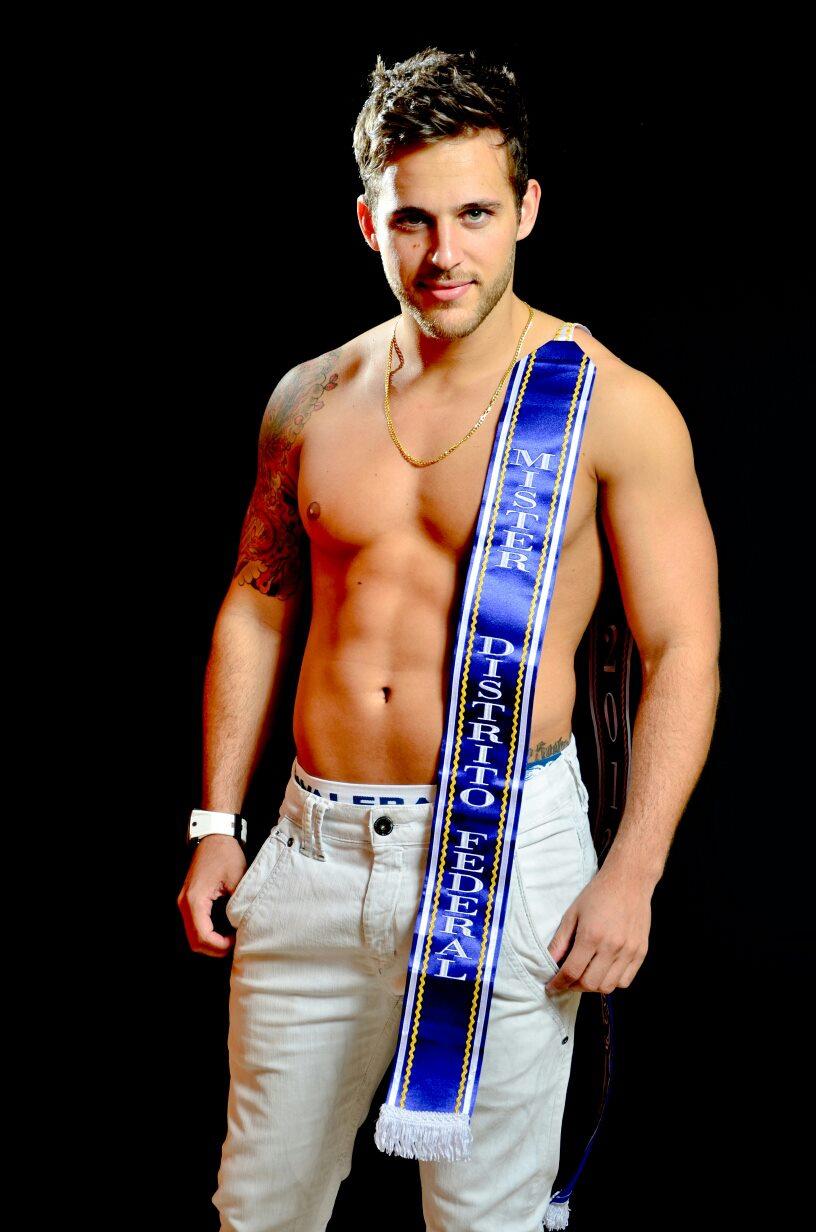 Thiago Ximenes, representante do Distrito Federal, é o novo Mister Brasil Mundial Universo