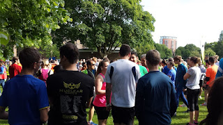 Crowds gather at Chelmsford Park Run