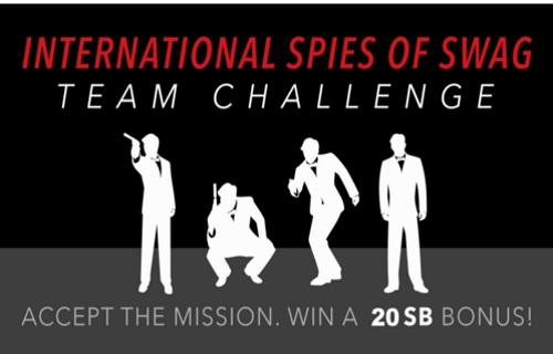 Swagbucks International Spies of Swag Team Challenge