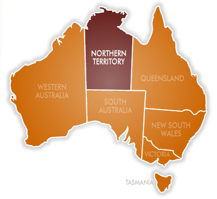 list of cities and towns in northern territory