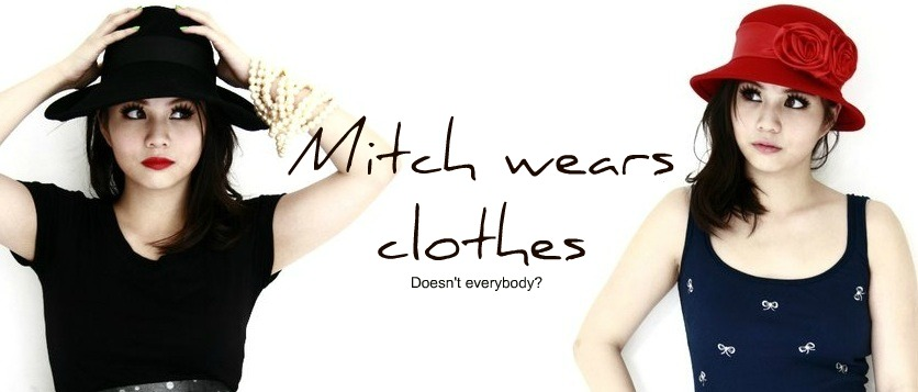 Mitch Wears Clothes