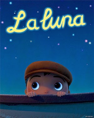 movie poster from La Luna