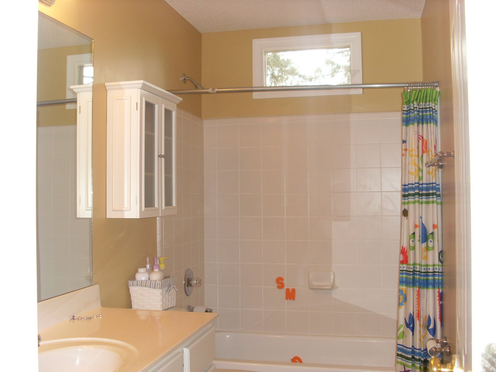 All Because Two People Fell In Love Bathroom Project Complete Almost