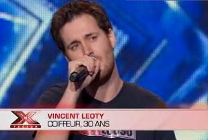 Vincent Leoty X factor 2011