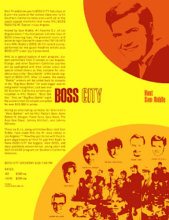 Boss City Promotional Sheet