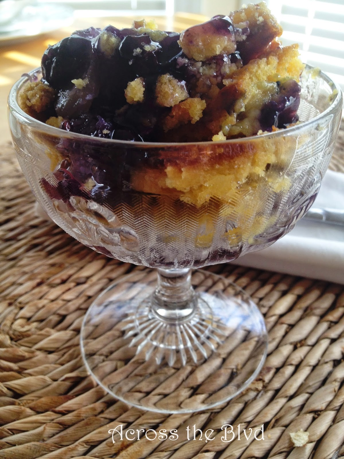 Pineapple Blueberry Crumble