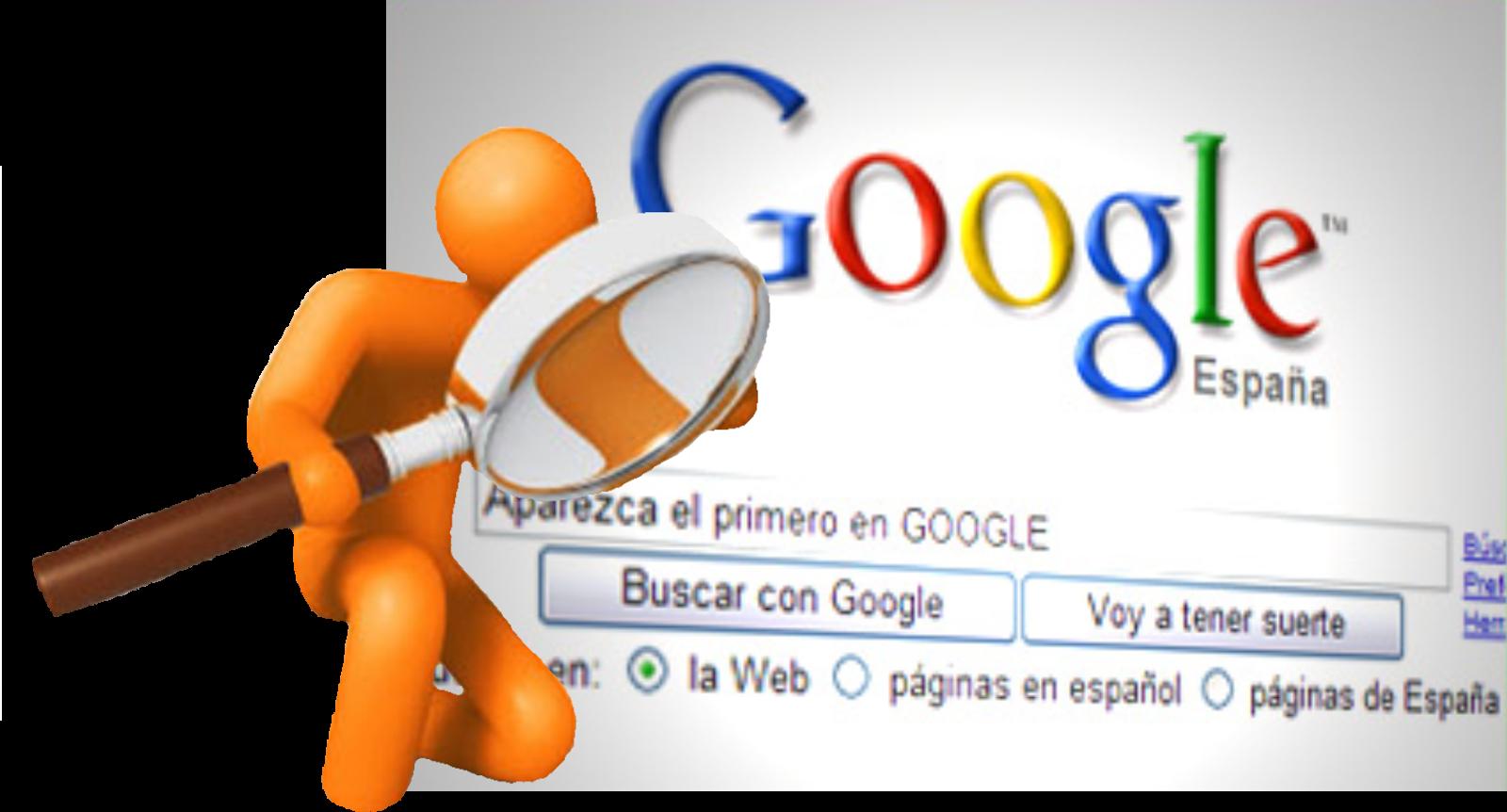 Google posicionamiento medio sitio web