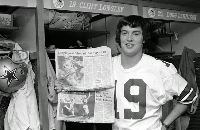 Clint Longley Mad Bomber Dallas Cowboys