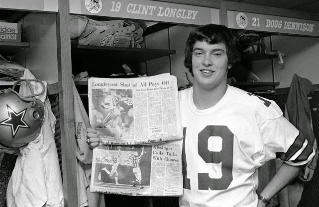 Clint Longley Mad Bomber Dallas Cowboys