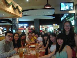 Christmas Lunch with Marlupi GUNUNG SAHARI's Crew
