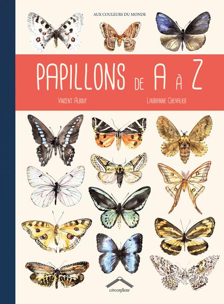 Papillons de A à Z (octobre 2014) - éditions Circonflexe
