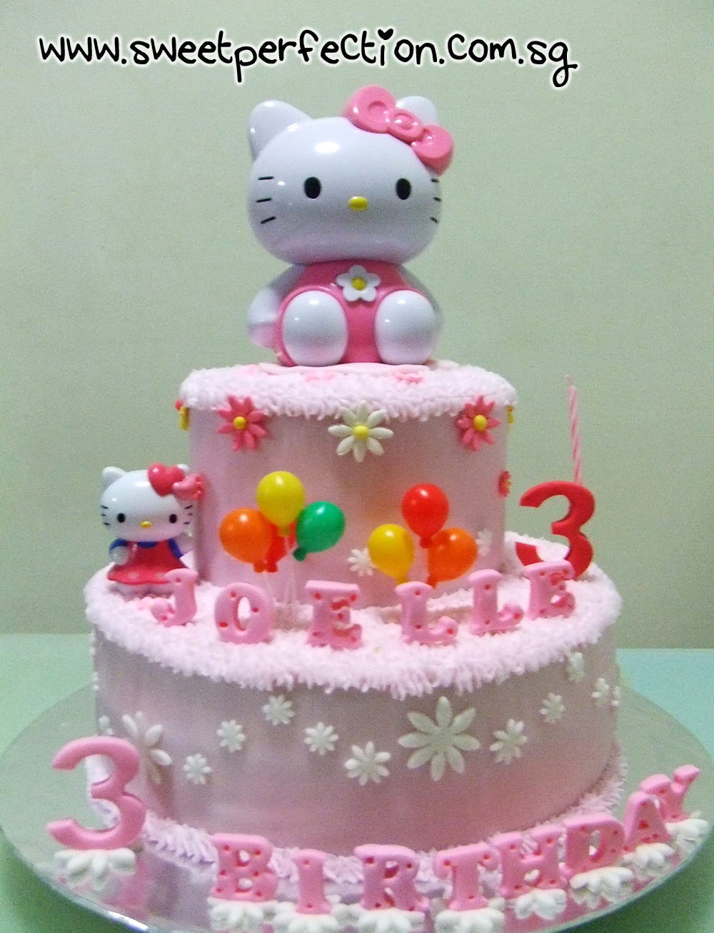 Sweet Perfection Cakes Gallery Code Hk02 Hello Kitty Joelle
