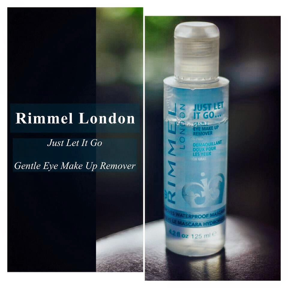 Rimmel eye makeup remover