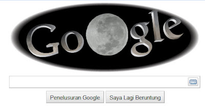 Lunar Eclipse Google Doodles