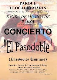 """CONCIERTO DE PASODOBLES TOREROS - """"EL ANDUJANO"""" ESTRENO"""